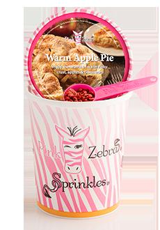 Warm Apple Pie 16oz. Carton Sprinkles