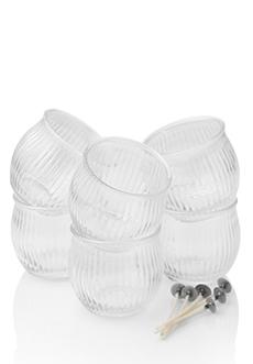 Shimmer Petite Glass 6 pk