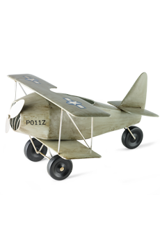 Vintage Plane Accent Shade