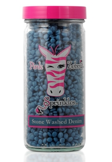 Stone Washed Denim 3.75 oz. Jar Sprinkles