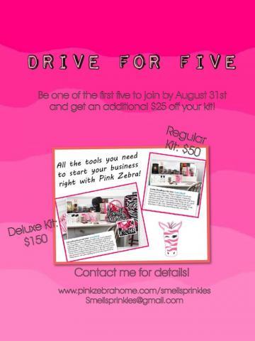 pink zebra consultant discount