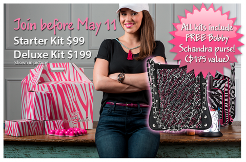 Join Before May 11th And Get A Free Purse Pink Zebra