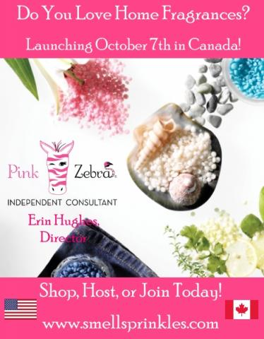 Join Pink Zebra in Canada!