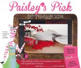 Red Currant Sprinkles: Paisley's Pick for September