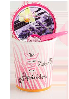 Relax (Lavender Vanilla) 16oz. Carton Sprinkles