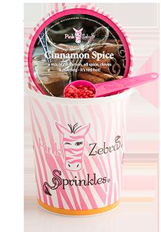 Cinnamon Spice 16oz. Carton Sprinkles