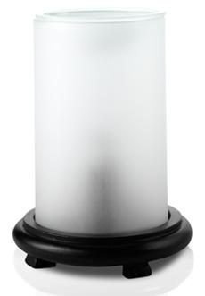 White Simmering Light w/ Black Base