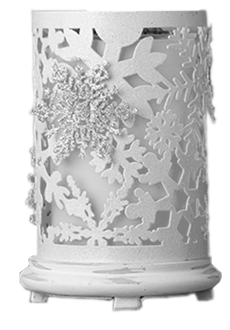 Snowflake Accent Shade w/Snowflake Medallions
