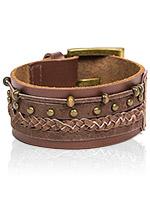 Hardware Braided Wristband