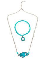 Evil Eye Necklace Set