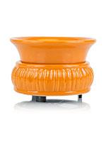 Harvest Orange Zebra Pattern Simmer Pot