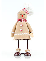 Gingerbread Chef Bobble Body