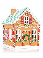 Gingerbread House Accent Shade