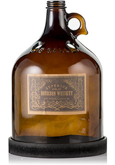 Brown Whiskey Jug Accent Shade