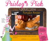Pumpkin Amber: Pink Zebra Fragrance of the Month