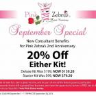 Pink Zebra Consultant Kit Anniversary Special!!!